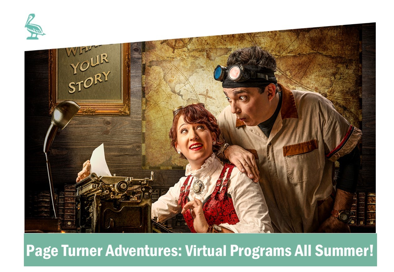 Page Turner Adventures Virtual Programs - For Students in Grades K-5