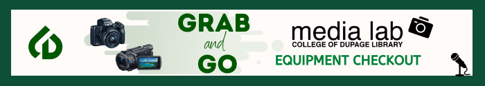 Logo for the Media Lab's Grab and Go service