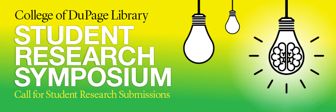 Logo for the COD Library Student Research Symposium