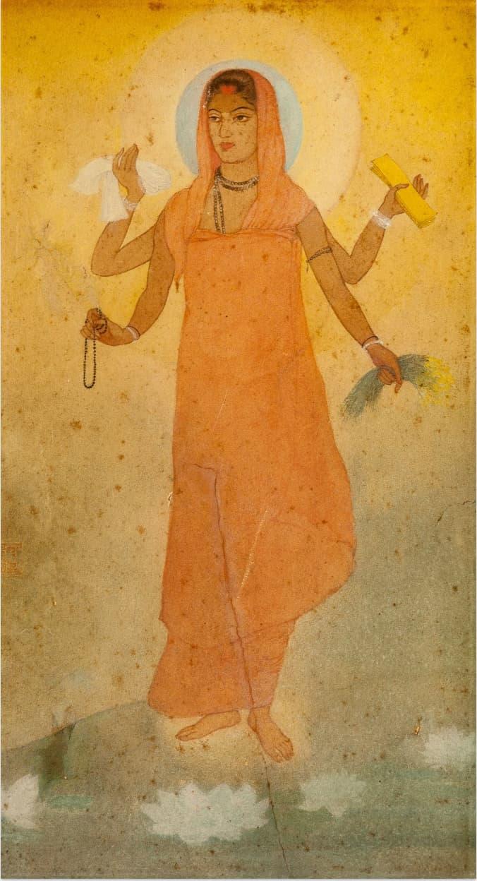 Bharat Mata, a painting by Abanindranath Tagore