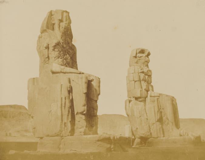 Vocal Memnon, Thebes