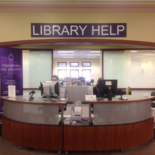 Hale Library Help Desk