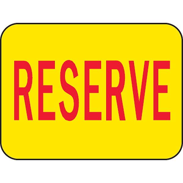 Image of Reserve Sticker
