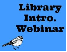 Library Intro Webinar