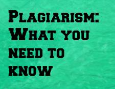 Plagiarism Webinar
