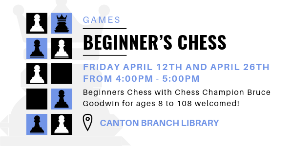 Beginners Chess at the Haywood County Public Library