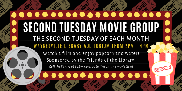 Second Tuesday Movie at the Haywood County Public Library