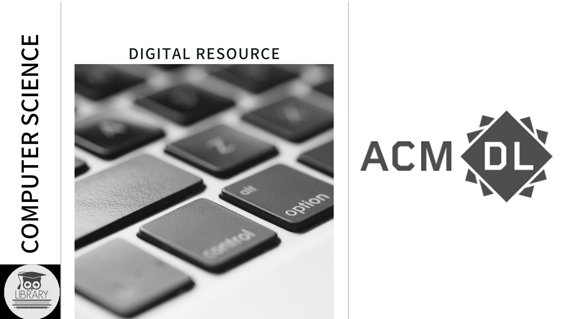 ACM Library provides Computer Science research