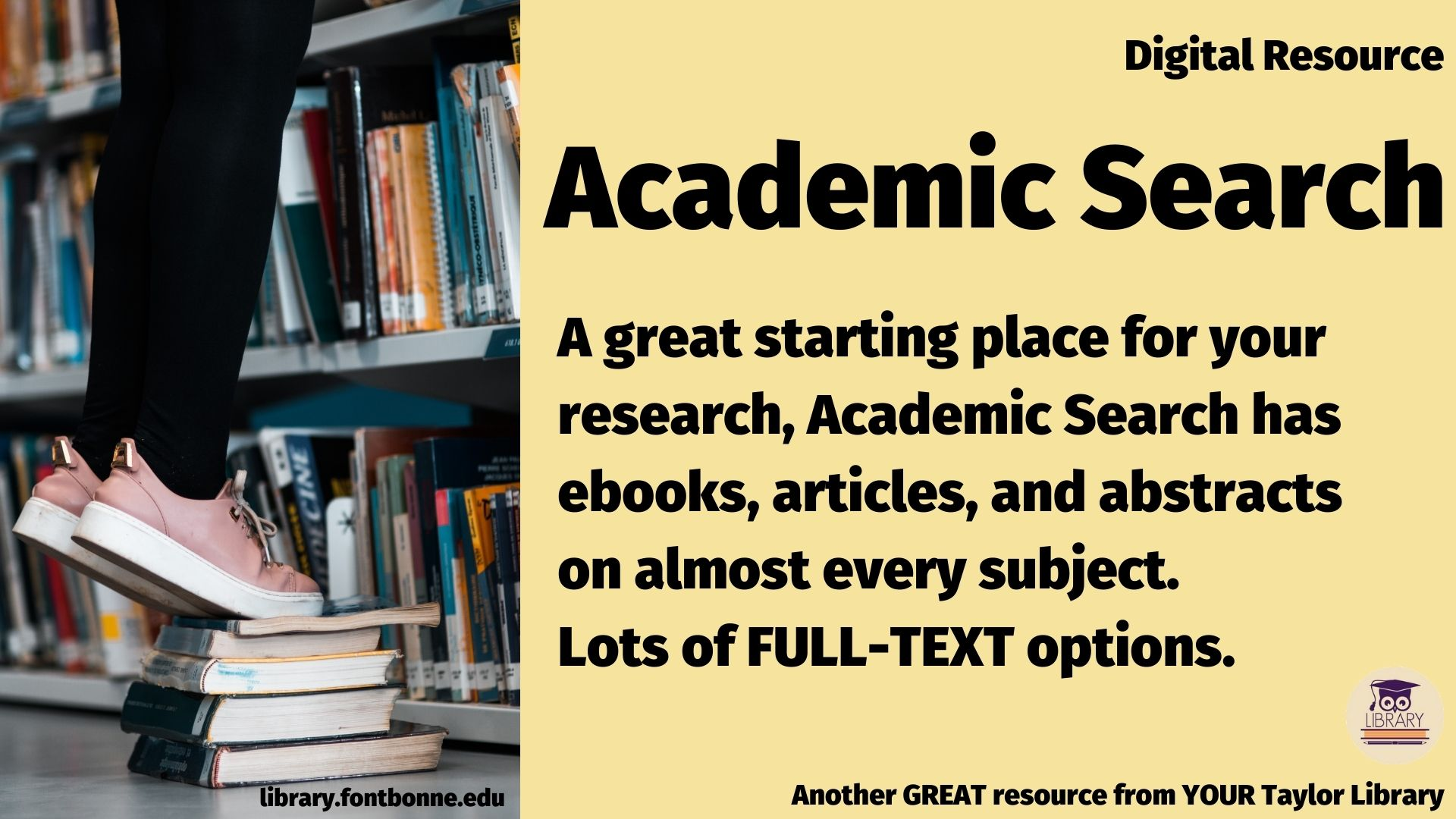 Academic Search is the right place to start your research!