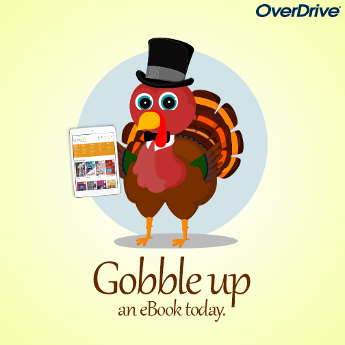 Gobble up an ebook: OverDrive