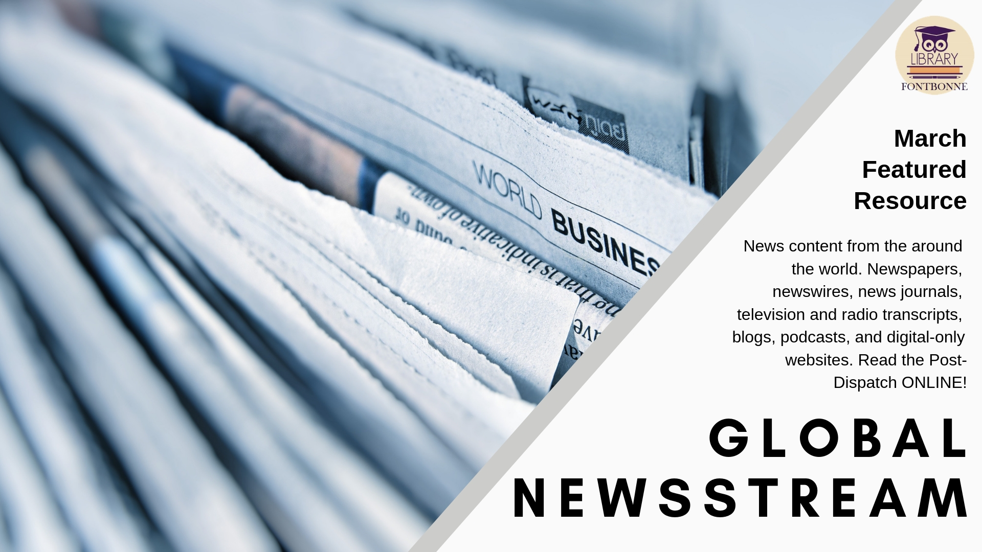 Read the Post-Dispatch and other world wide news online with Global Newsstream
