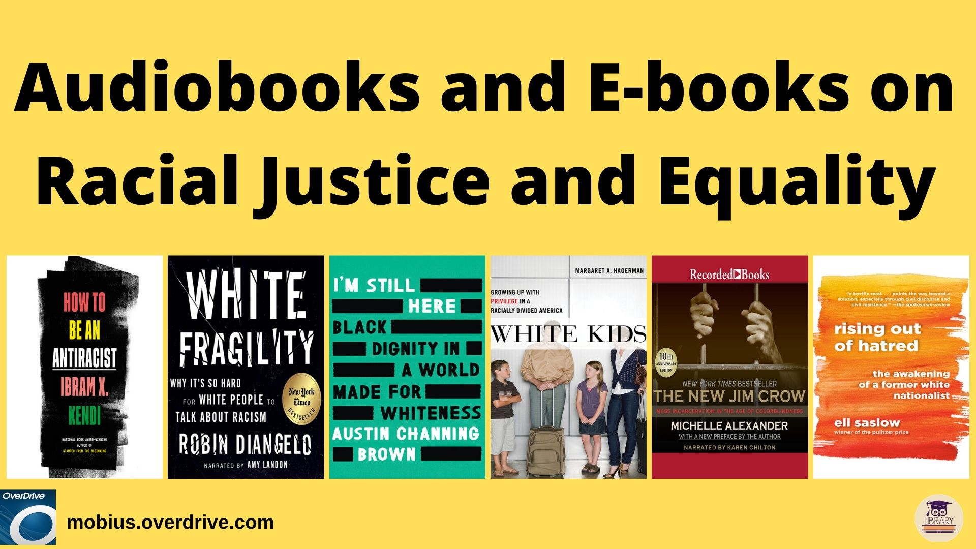 find books on racial justice with OverDrive