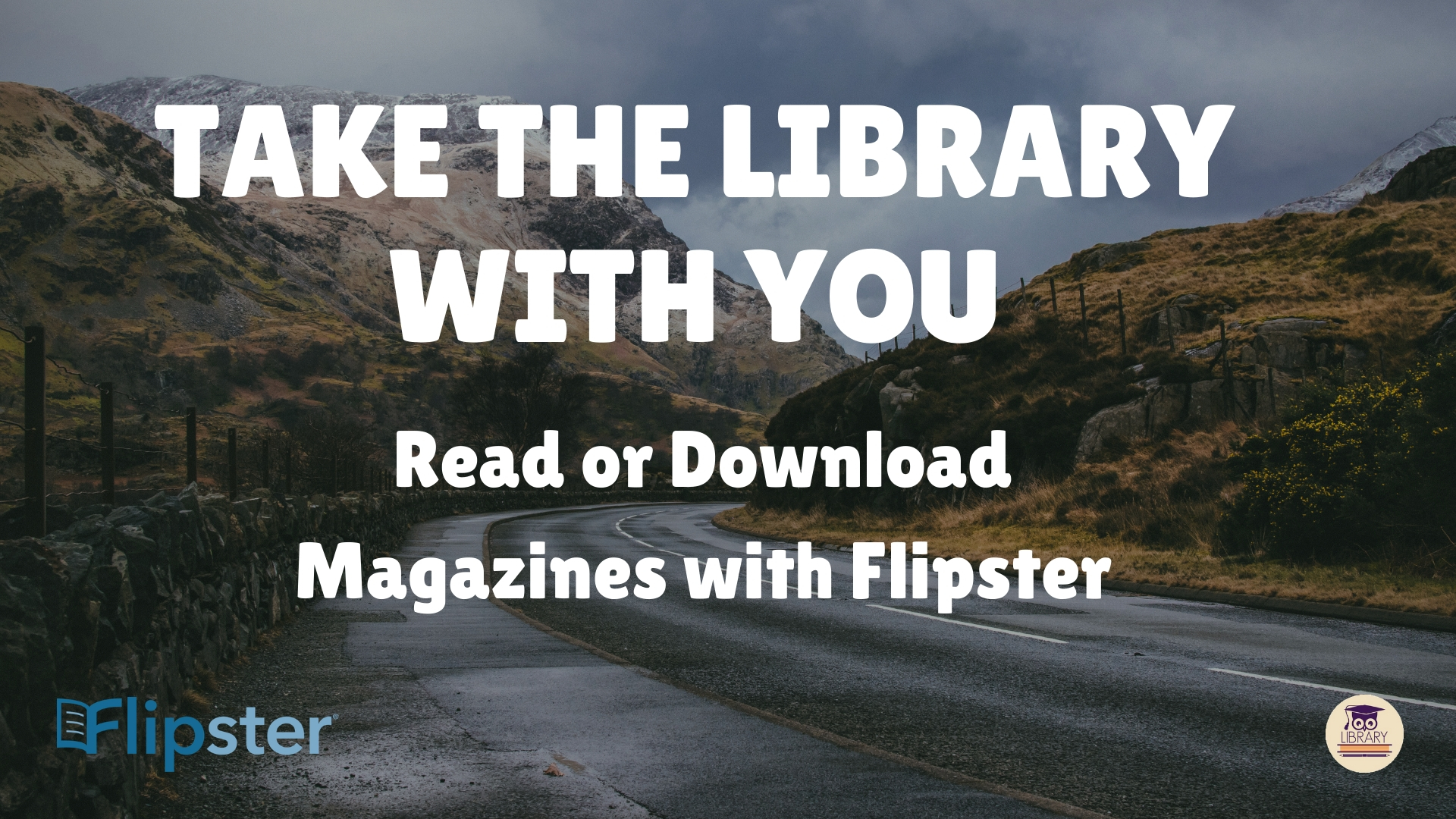read or downloard magazines and journals with flipster