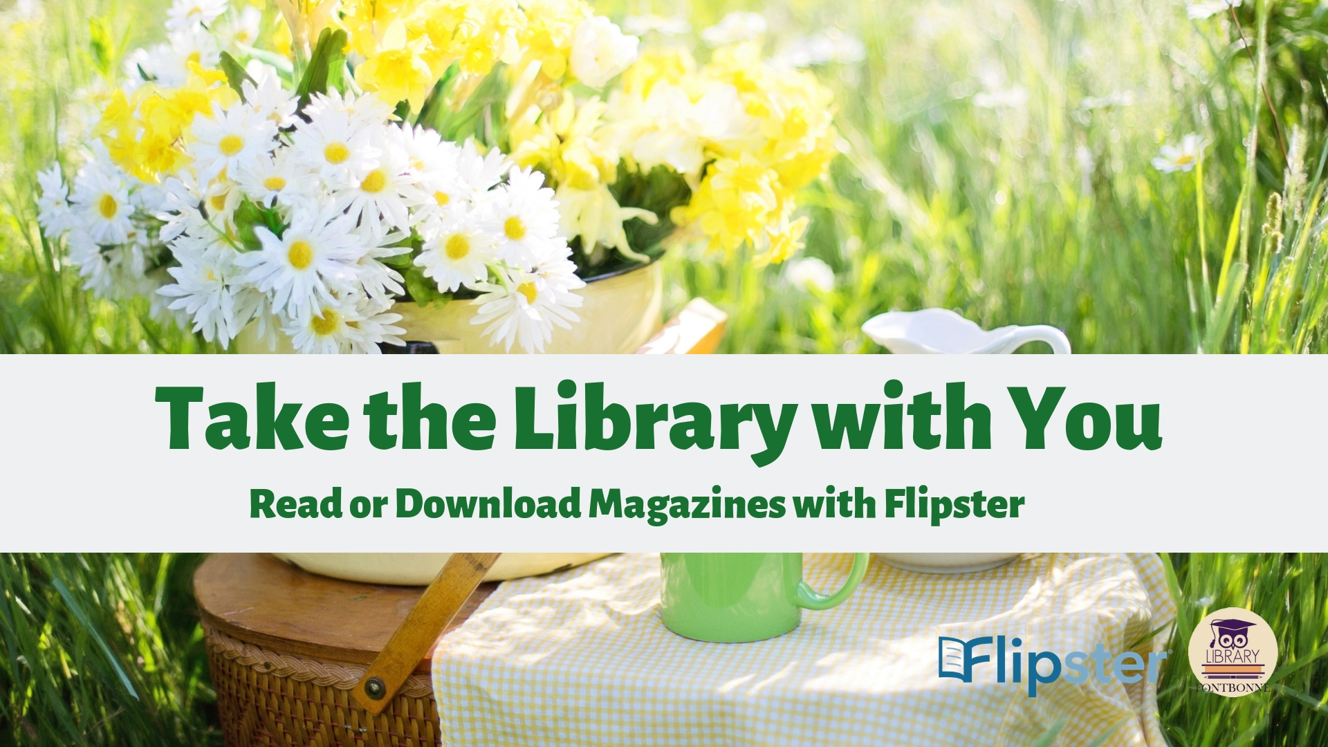 Read magazines online or in the app with Flipster