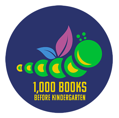 Caterpillar reading 1,000 books