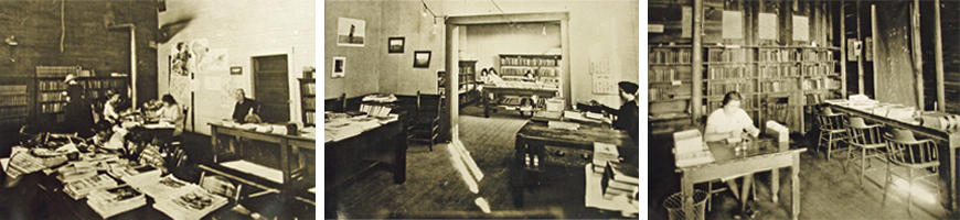 Library Interiors from 1921