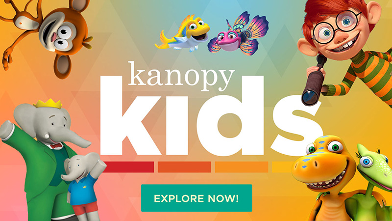 Kanopy Kids Streaming Video Collection