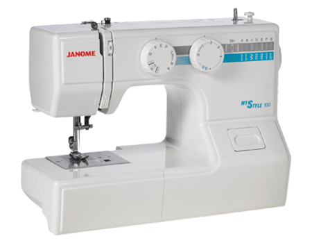 Picture of the Janome sewing machine