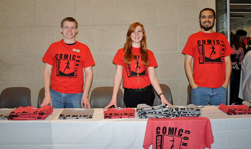 Medford Comic Con Volunteers 2016