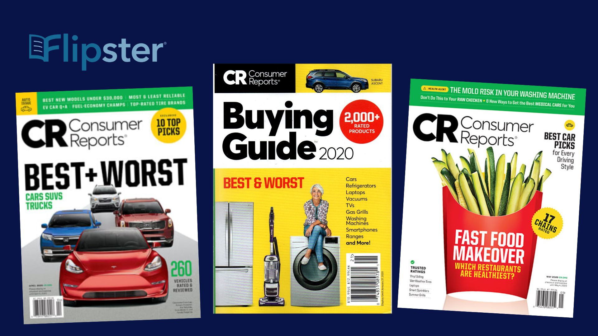 Access Consumer Reports on Flipster