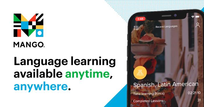 Mango: Language Learning Available Anytime, Anywhere