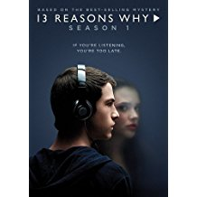 13 reasons why, season 1, dvd cover