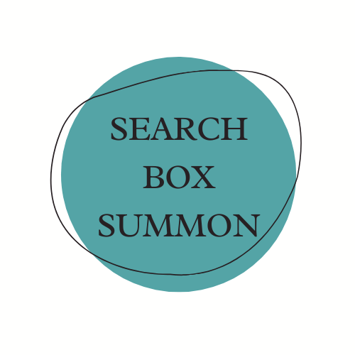 Search box is summon