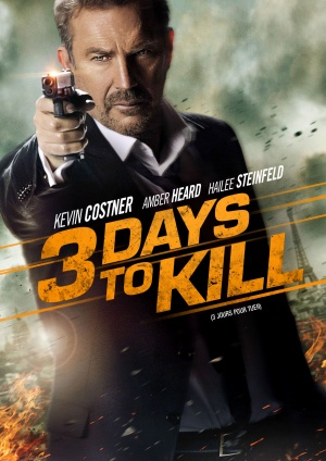 3 days to kill dvd cover