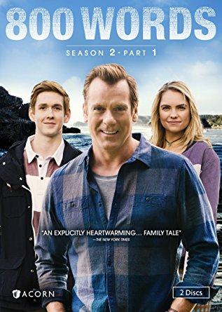 800 words, season 2, part 1, dvd cover