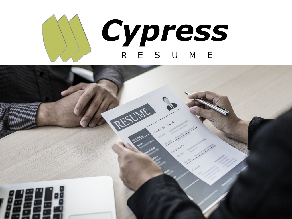 Build a Resume with Cypress Resume