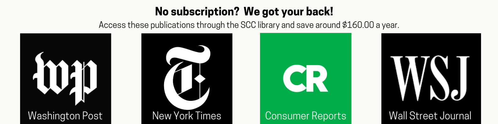 Free access to newspapers