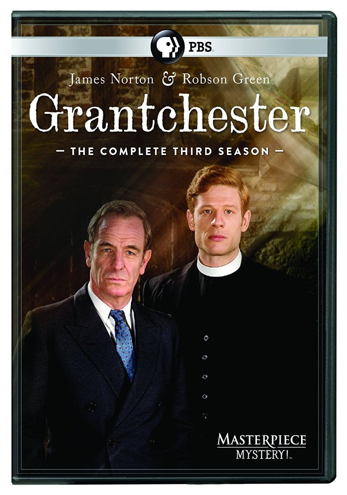 Grantchester: Season 3 dvd cover