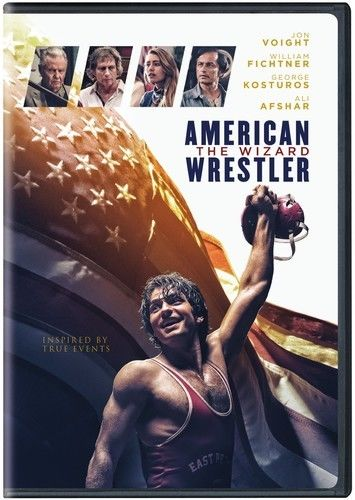 American wrestler : the wizard dvd cover