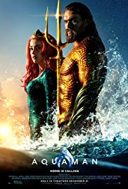 Aquaman dvd cover