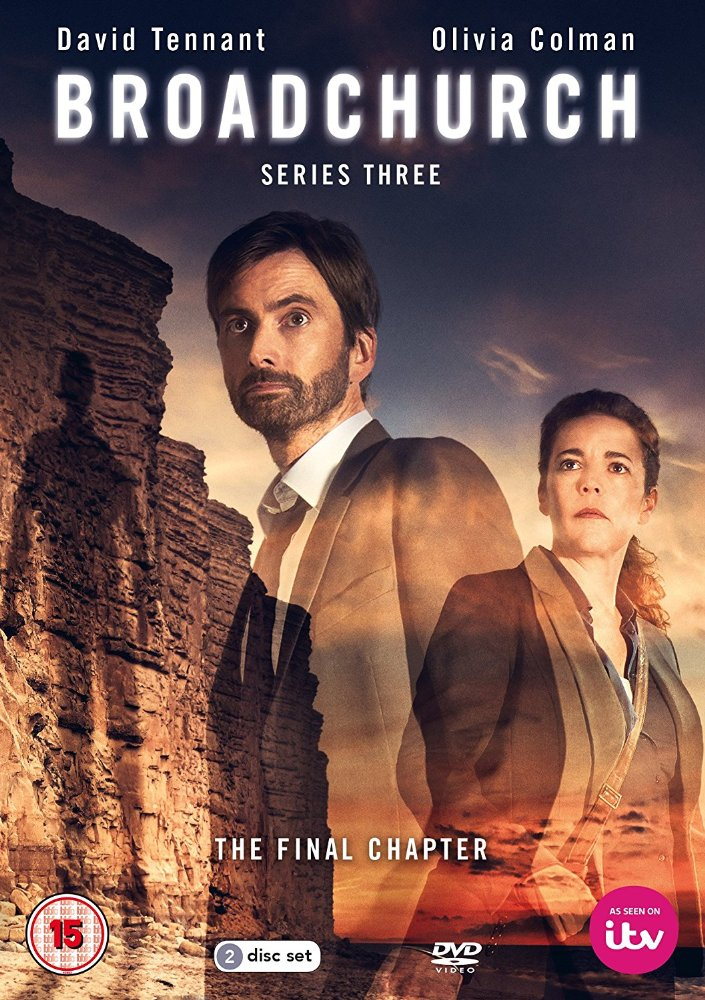 Broadchurch: The Complete Third Season dvd cover