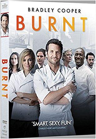 Burnt dvd cover