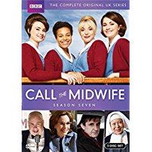 Call the Midwife: Season 7 dvd cover