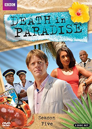 Death in paradise. Season 5 dvd cover