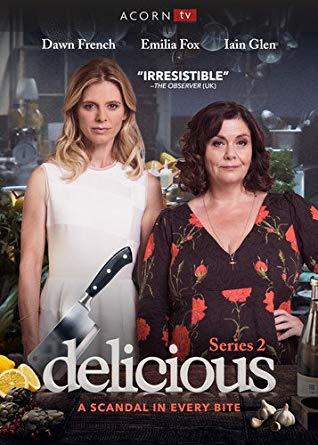 Delicious: Season 2 dvd cover