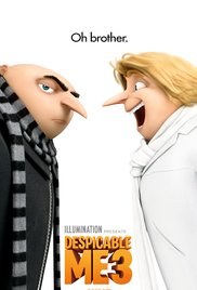 Despicable Me 3 dvd cover
