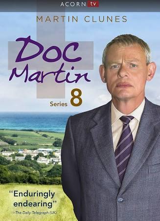 Doc Martin: Season 8 dvd cover