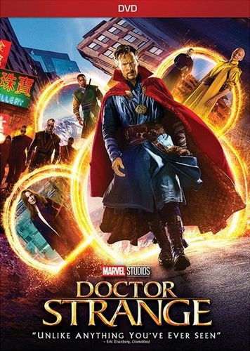 Doctor Strange dvd cover
