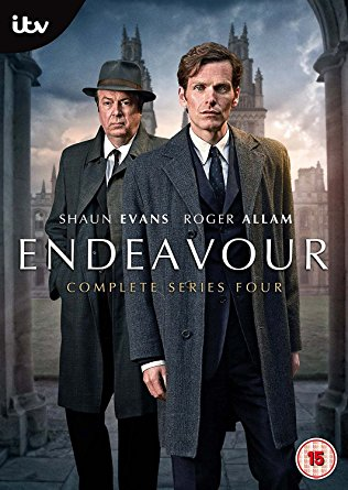Endeavour: Season 4 dvd cover