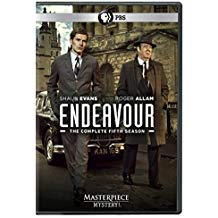 Endeavour: Season 5 dvd cover