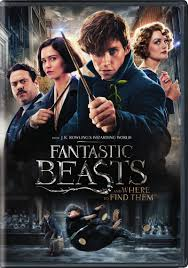 Fantastic beasts and where to find them dvd cover
