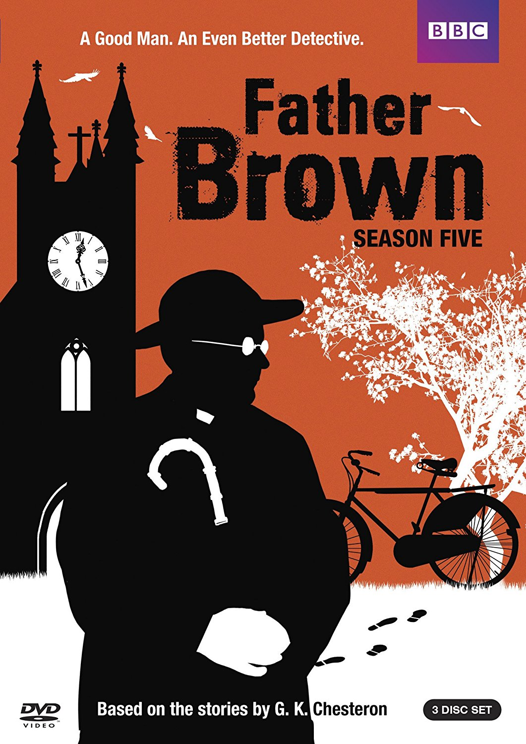 Father Brown: Season 5 dvd cover