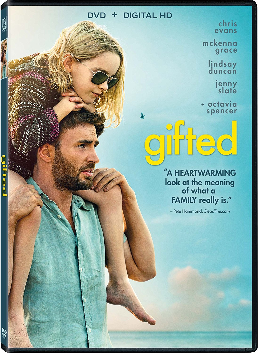 Gifted dvd cover