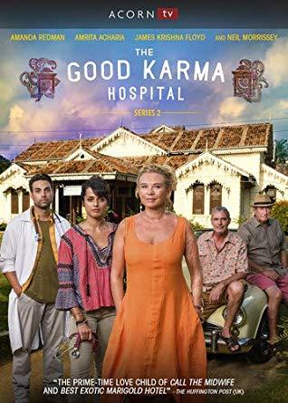 The Good Karma Hospital: Series 2 dvd cover