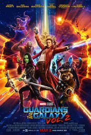 Guardians of the galaxy. Vol. 2 dvd cover