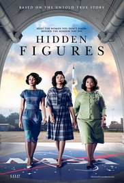 Hidden figures dvd cover